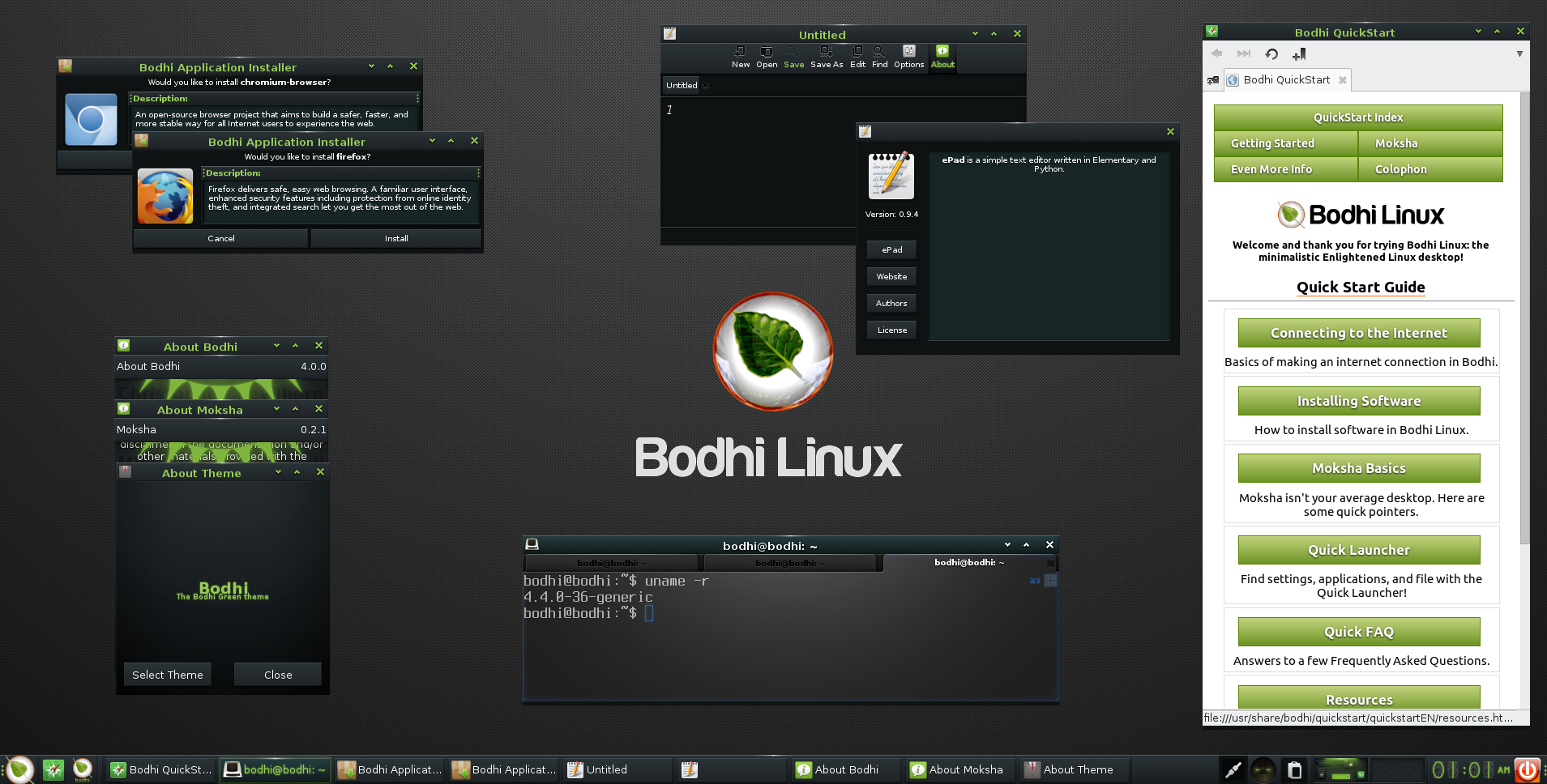 Bodhi Linux 4 0 0 Ubuntu Based Distro Now Available With