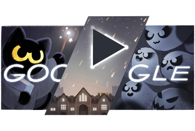Today's ghostly Google doodle is a Harry Potter-inspired Halloween ...