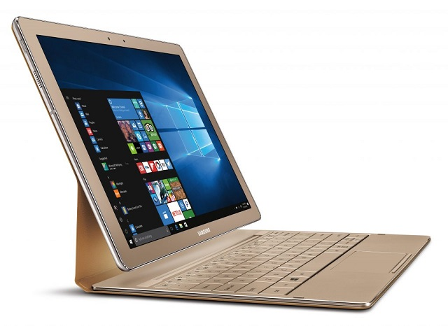 eb320c0bc4590 Samsung releases Galaxy TabPro S Gold Edition 2-in-1 Windows 10 ...