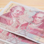 Cash UK British pound sterling