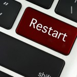 Restart button keyboard key