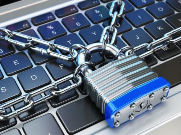 keyboard padlock