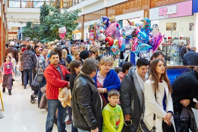 shopping-line-queue