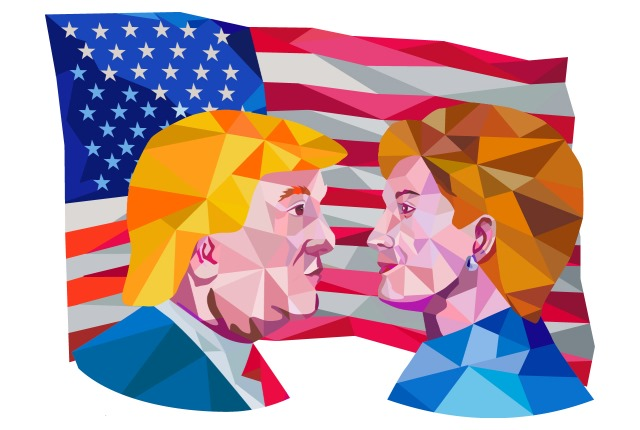 trump-vs-clinton-us-flag