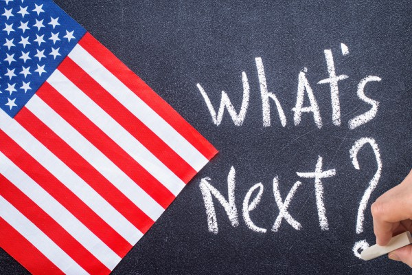 American Flag What's Next Question