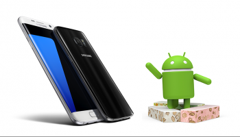 Android Nougat Samsung Galaxy S7 edge