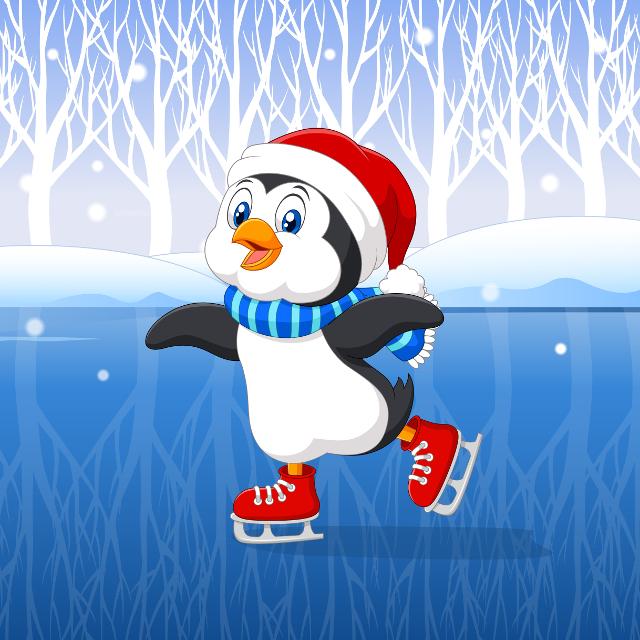 ChristmasPenguinLinux