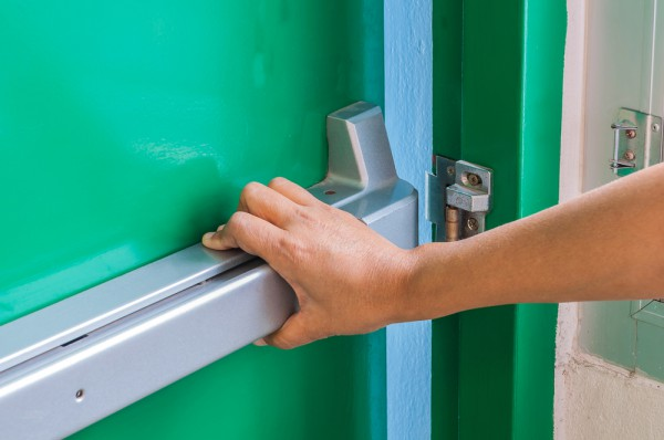 Hand Door Exit