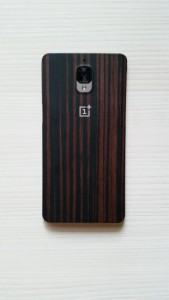 OnePlus 3T wood case