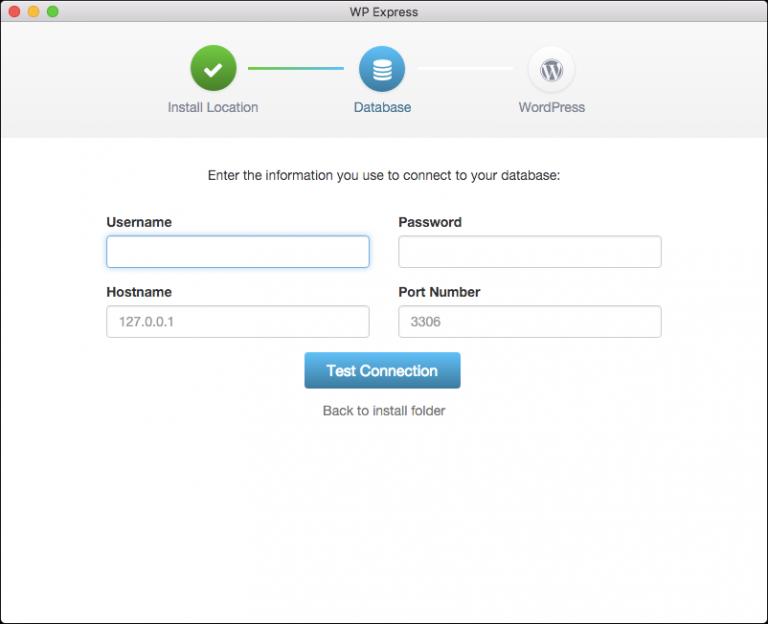 Install and run WordPress on a local desktop