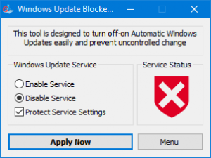 WindowsUpdateBlocker