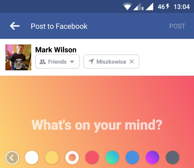 Full HD How to make facebook status color Wallpapers, Android ...