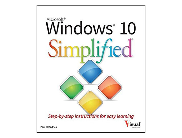 Get Wiley's 'Windows 10 Simplified' (worth $17) FREE for a limited time