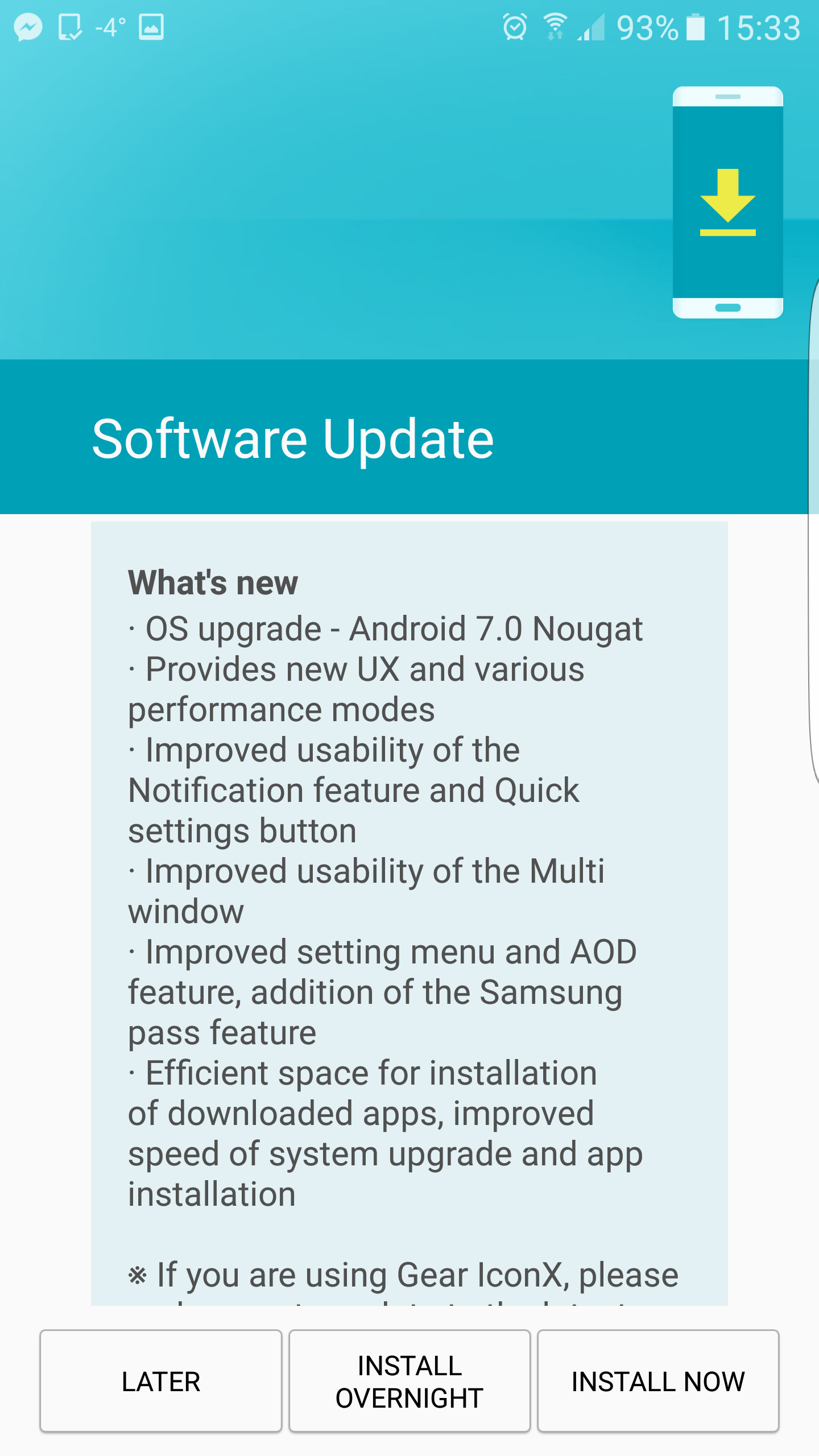 Android Nougat on Samsung Galaxy S7: A big step in the right direction
