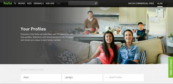 Hulu-profiles