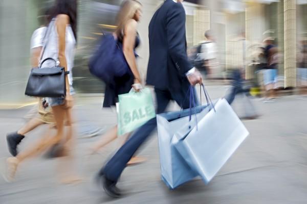 Shoppers retail shopping bags