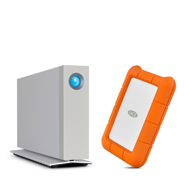 LaCie refreshes 'd2' and 'Rugged' external drives with
