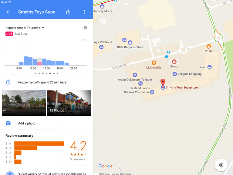Google Maps For Ios Adds Real Time Updates To Popular Times