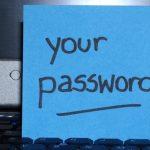 password-sticky-note