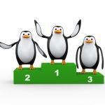 penguin-podium