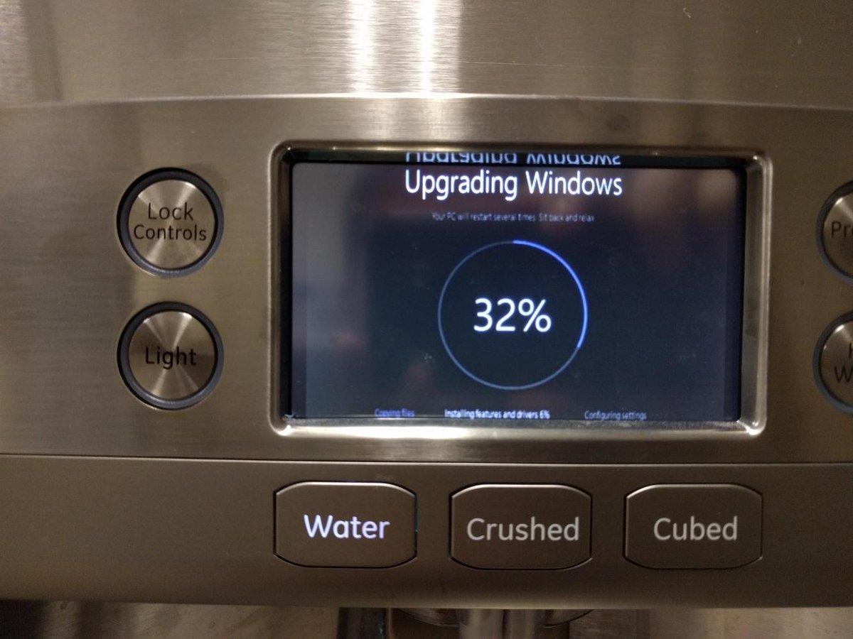 upgrading fridge