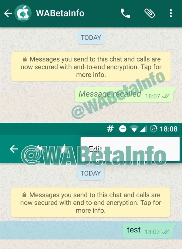 how to delete whatsapp messages from the server