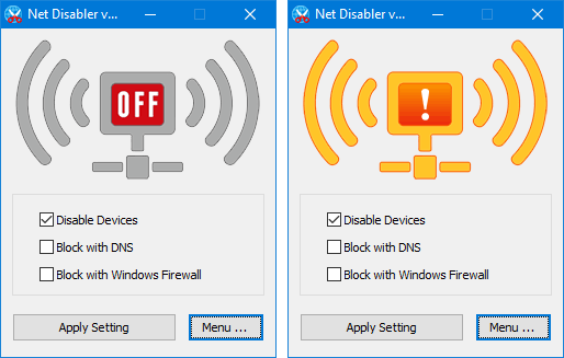 Instantly Block Internet Access With Netdisabler Betanews