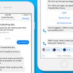 TransferWise Facebook Messenger bot