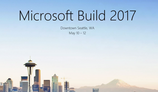 Microsoft build conference 2018 giveaways