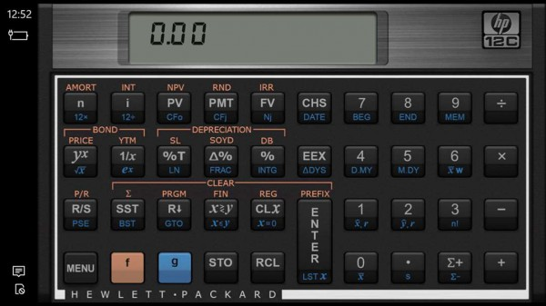 Hp 12c Financial Calculator For X3 Is An Official By That Brings The Company S To Windows