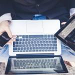 phone laptop tablet multitasking