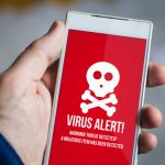 Virus alert on Android phone