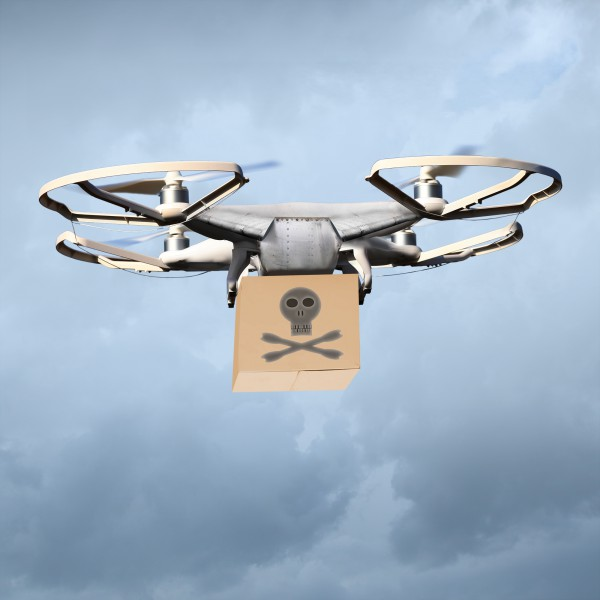 ParcelHero pirate drone