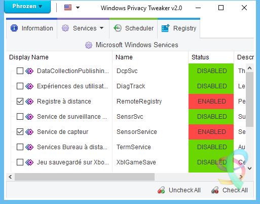 WindowsPrivacyTweaker