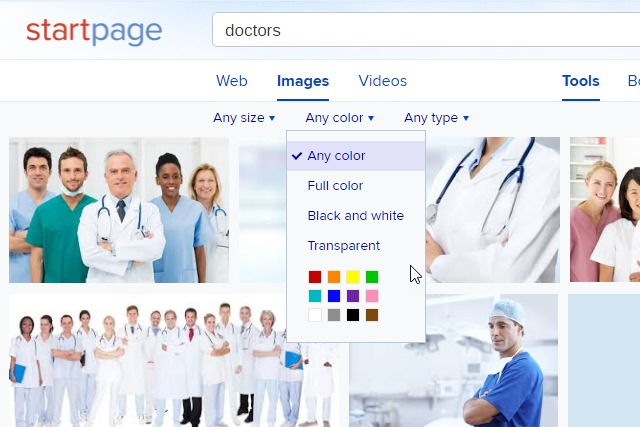 startpage-image-search