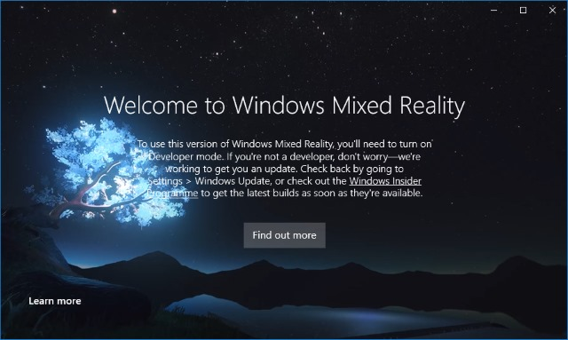 Windows Mixed Reality arrives in Windows 10 build 15048 with a demo you can try!