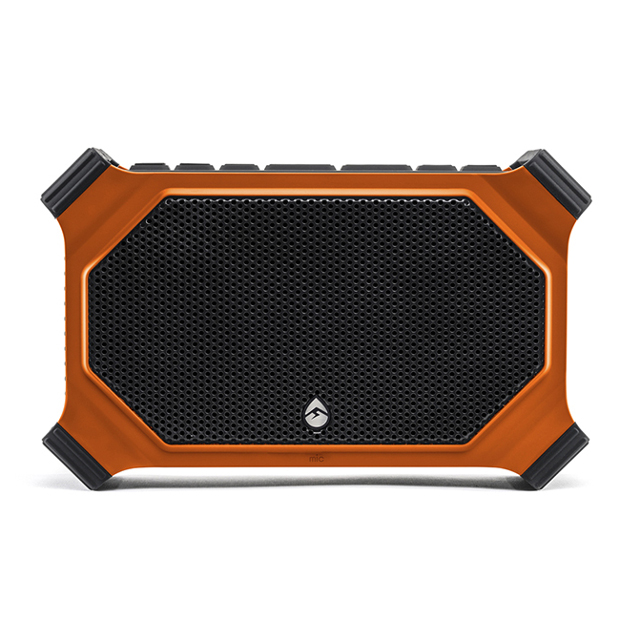 photo image ECOXGEAR EcoSlate is a rugged Bluetooth speaker with integrated 200 lumen lantern