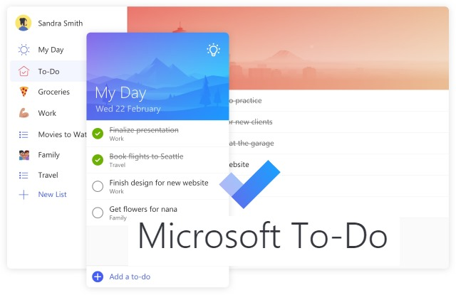 Microsoft To-Do is a new app that replaces Wunderlist