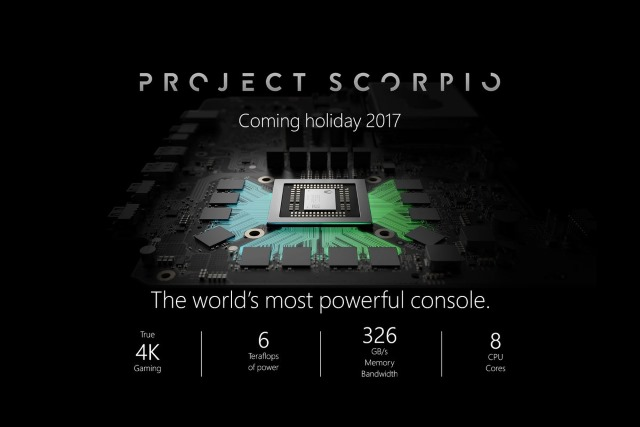 Project Scorpio Specs Revealed What To Expect From The