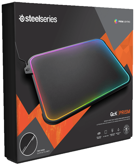 e089dad3277 If you want to buy the SteelSeries QcK Prism dual-surface RGB illuminated  premium gaming mousepad, it can be yours today for $59.99.