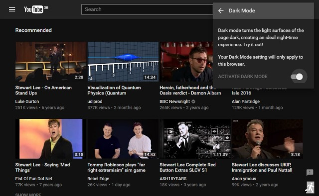 How To Enable YouTube's Hidden Dark Mode Feature