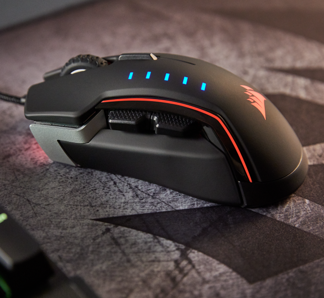 Corsair unveils GLAIVE RGB wired gaming mouse with