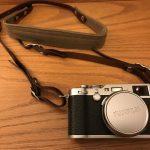 Fuji X100F with ONA strap