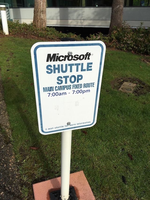 my nerdy pilgrimage to the microsoft campus in seattle
