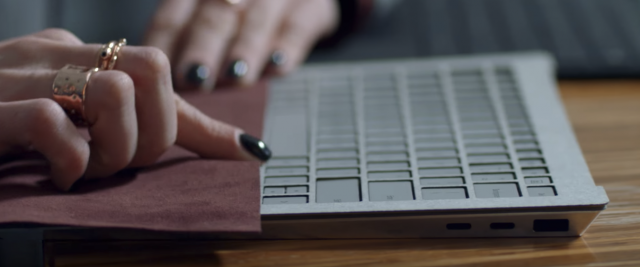 Microsoft Surface Laptop USB Type C prototype