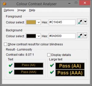 ColourContrastAnalyser