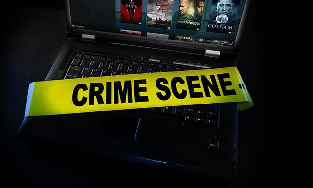 Kodi crime scene