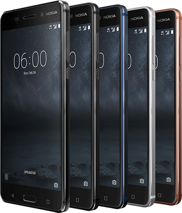 Nokia 6, 5 and 3 will get Android O update