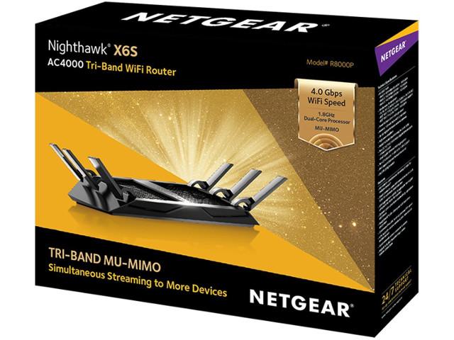 NETGEAR unveils Nighthawk X6S AC4000 Tri-Band Gigabit MU