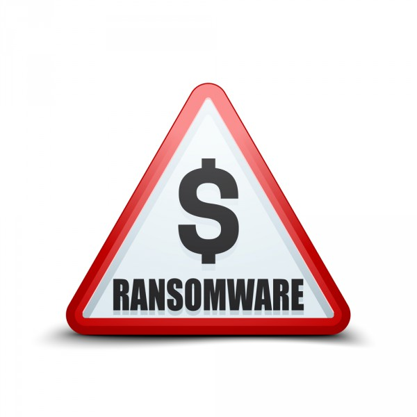 Ransomware sign